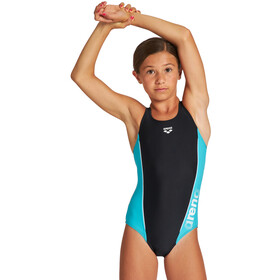 arena Thrice Pro Back One Piece Swimsuit Girls black/martinica/white